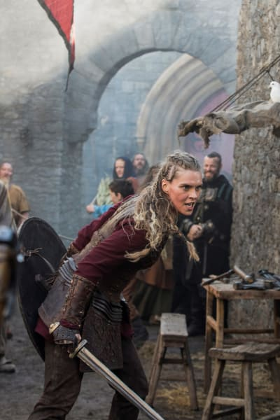 Gunnhild - Vikings Stagione 5 Episodio 17