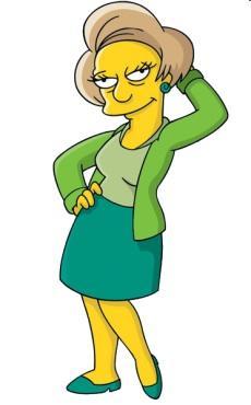 Edna Krabappel Picture