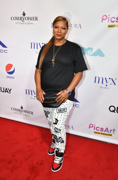 Queen Latifah Attends MTV VMA Party