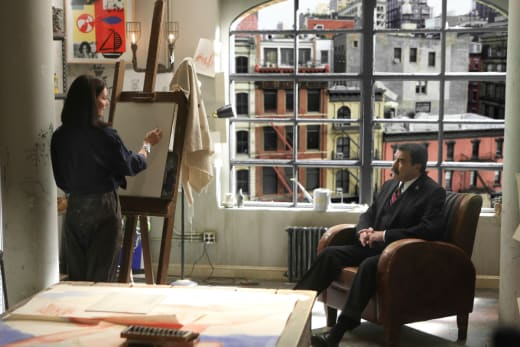 Frank and The Artist - Blue Bloods Season 8 Episode 6