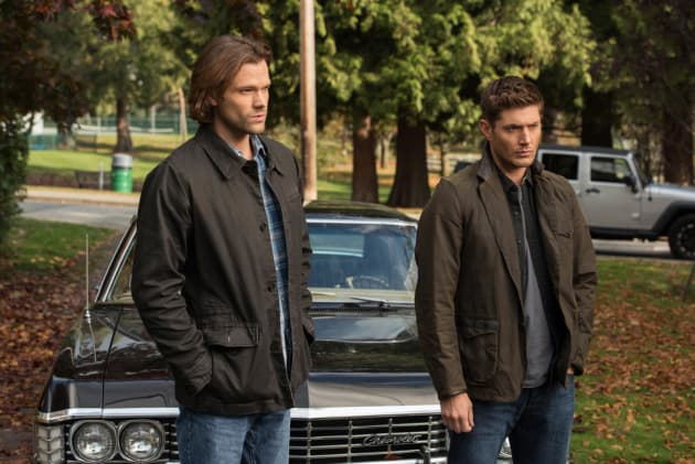 Wayward Sisters - Sam and Dean