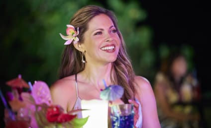 """Pascale Hutton Previews You Had Me at Aloha: """"It Was Like a Pinch-Me Moment."""""""