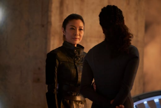 Georgiou with Questions - Star Trek: Discovery Season 2 Episode 11