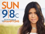 Kourtney Kardashian Promotional Pic - Kourtney & Khloe Take the Hamptons