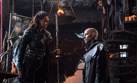 Lexa vs. Titus? - The 100 Season 3 Episode 7