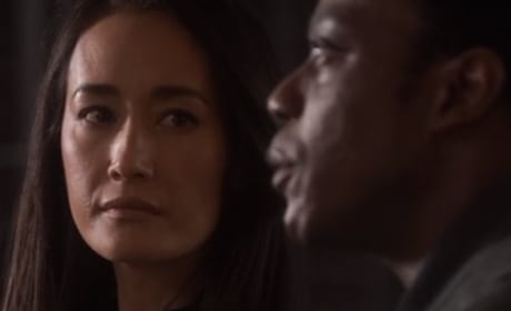 Hannah and Eli  - Designated Survivor Season 3 Episode 7
