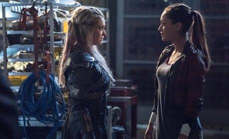 A Confrontation? - The 100 Season 3 Episode 15