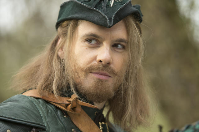 Tom Riley as Robin Hood - Doctor Who Season 8 Episode 3
