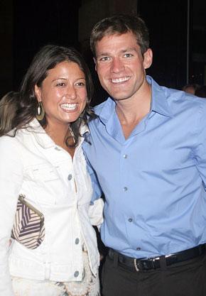 Andy Baldwin and Tessa Horst