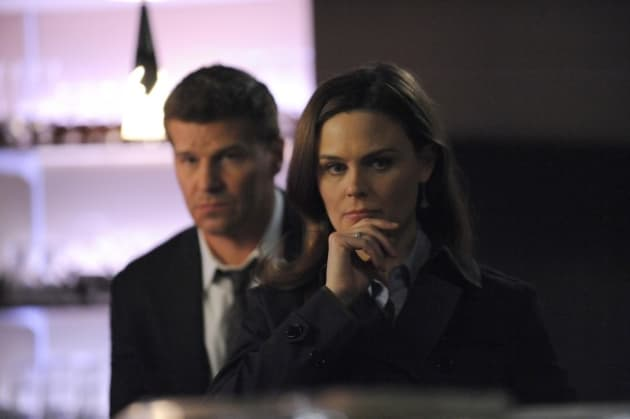 Booth and Brennan Look On