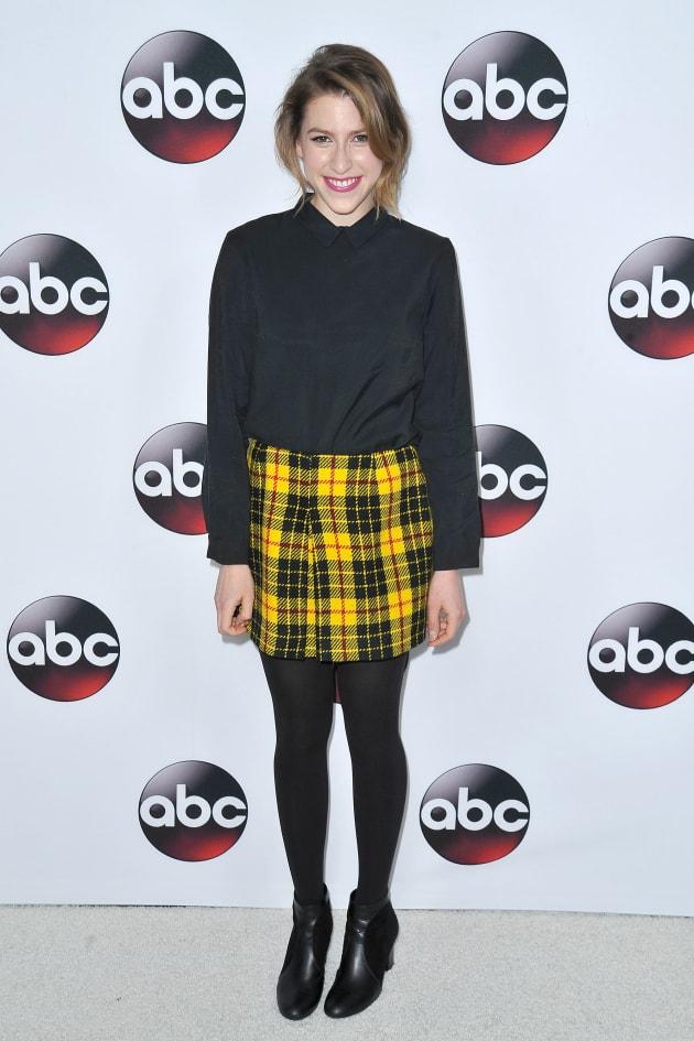 Eden Sher Attends TCA Press Tour