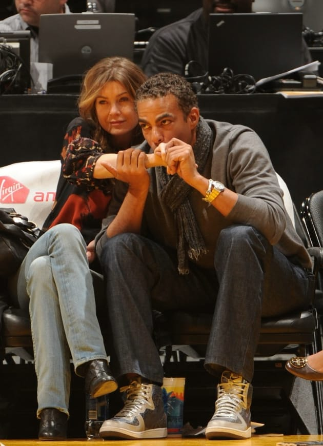 Lakers Love For Ellen Pompeo, Chris Ivery - TV Fanatic Online Tv Abc Photos