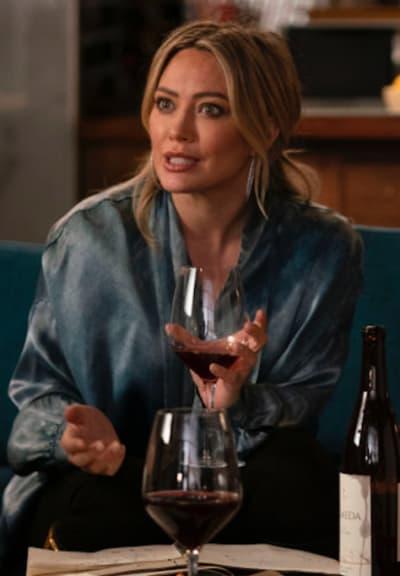 Kelsey drinks - Younger Season 7 Episode 4