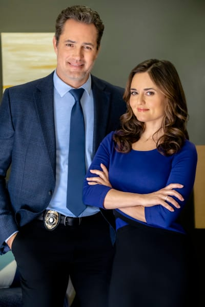 Kyle and Angie on Matchmaker Mysteries