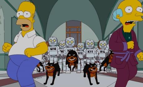 Robots on the Run