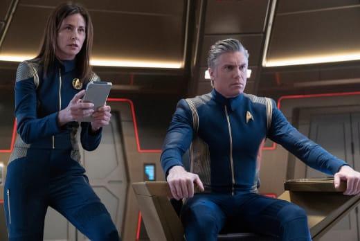 Cornwell and Pike - Star Trek: Discovery Season 2 Episode 9