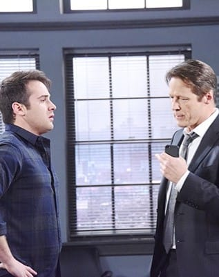 (TALL) Jack and JJ Team Up - Days of Our Lives