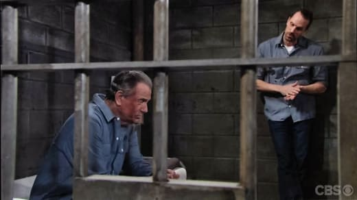 Victor Behind Bars - The Young and the Restless