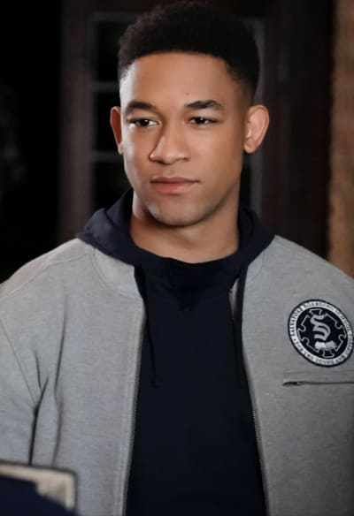 Rafael Chats with Landon - Legacies Season 1 Episode 9