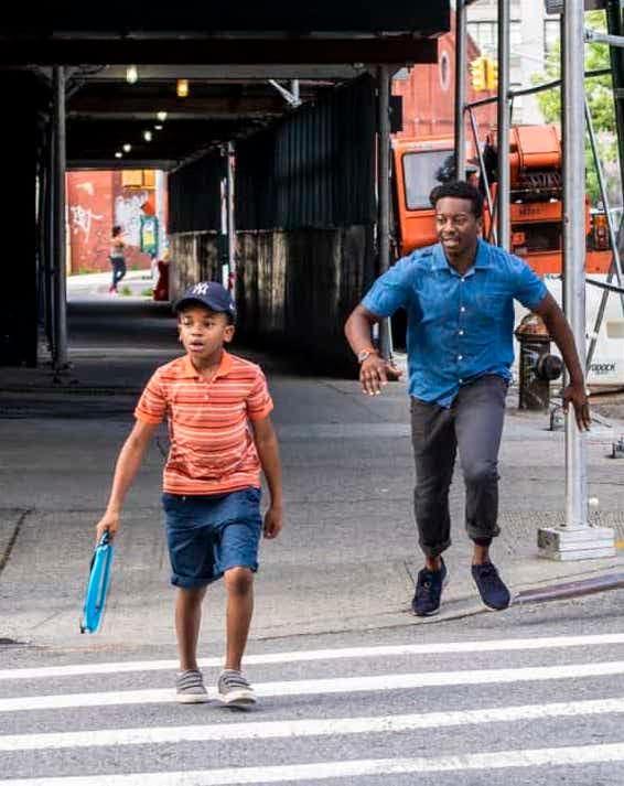 Miles Helps Little Boy - God Friended Me