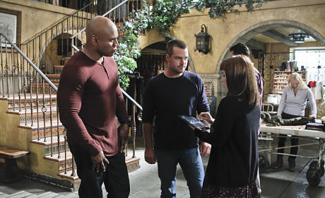 Nell Approaches Sam and Callen