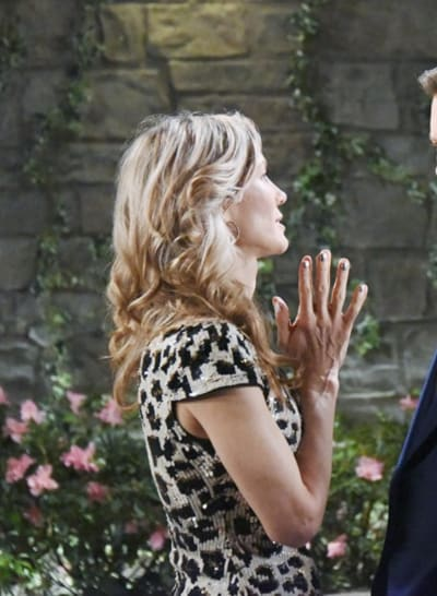 (TALL) Kristen Confronts Brady - Days of Our LIves