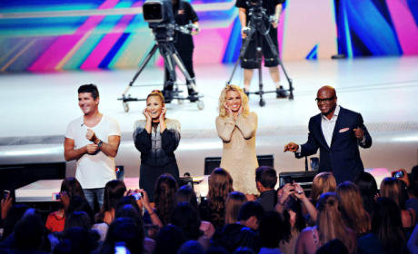 The X Factor Judges - Season 2
