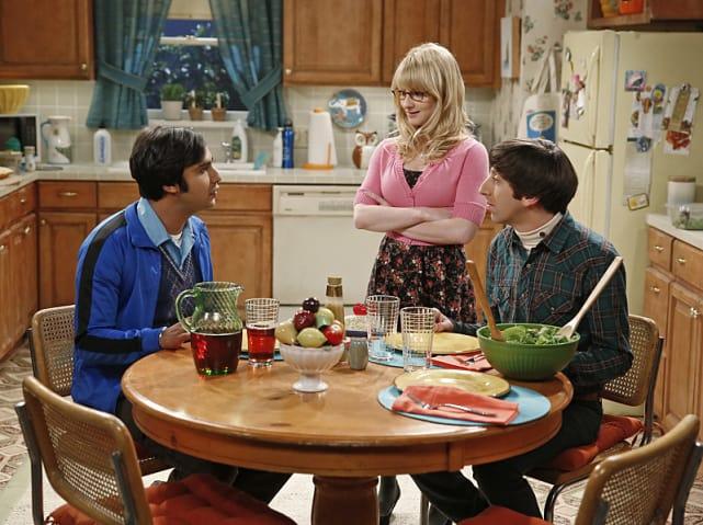 Raj Chats with Bernadette and Howard - The Big Bang Theory Season 8 Episode 24