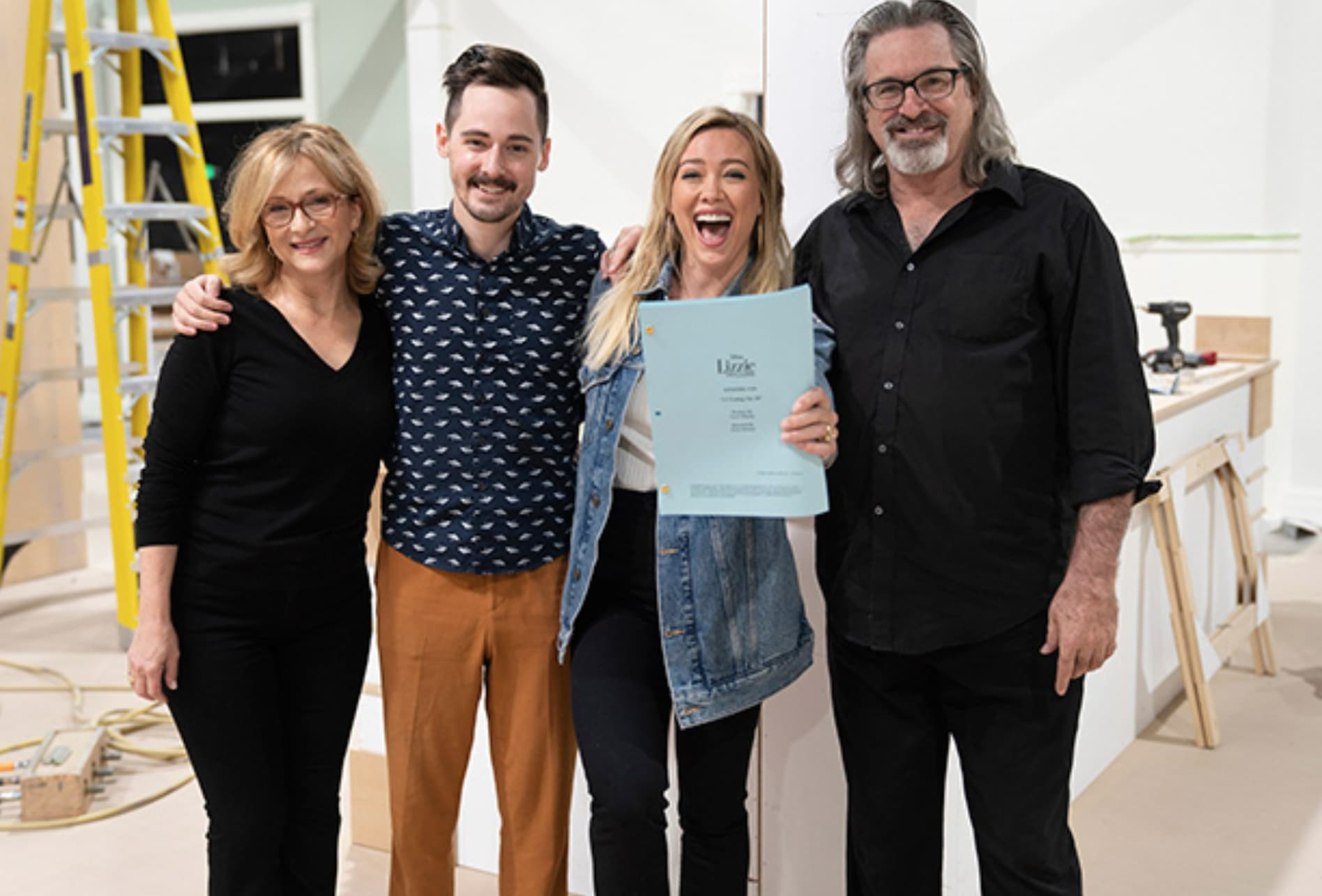 All About Lizzie 2012 lizzie mcguire revival casts 3 original stars: first photo