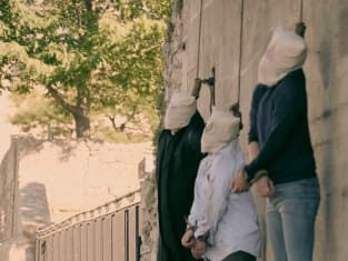 Walking by the Wall - The Handmaid's Tale