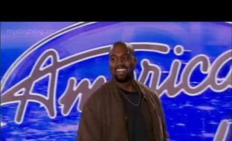 American Idol Promo: Is That Kanye West?!?