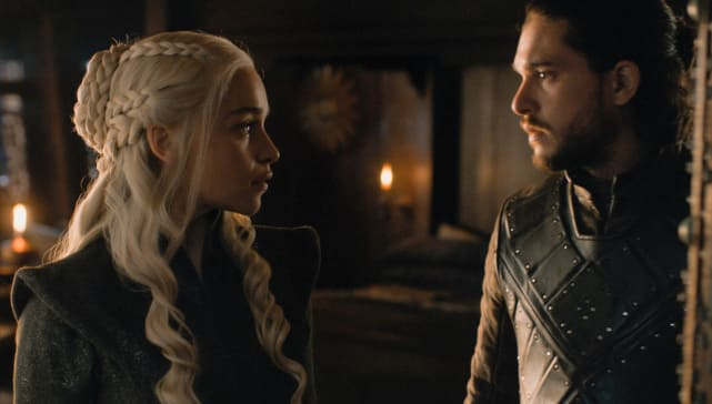 Jon and Daenerys - Game of Thrones