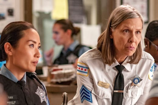 Platt and Tay On Duty - Chicago PD Season 4 Episode 4