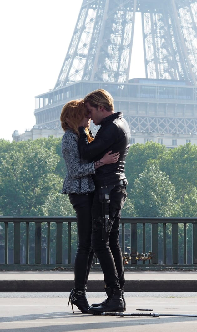 Eiffel Tower Reunion - Shadowhunters Season 3 Episode 12