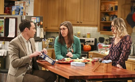 Plenty to Talk About  - The Big Bang Theory Season 9 Episode 24