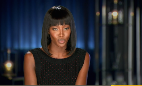 Naomi on The Face