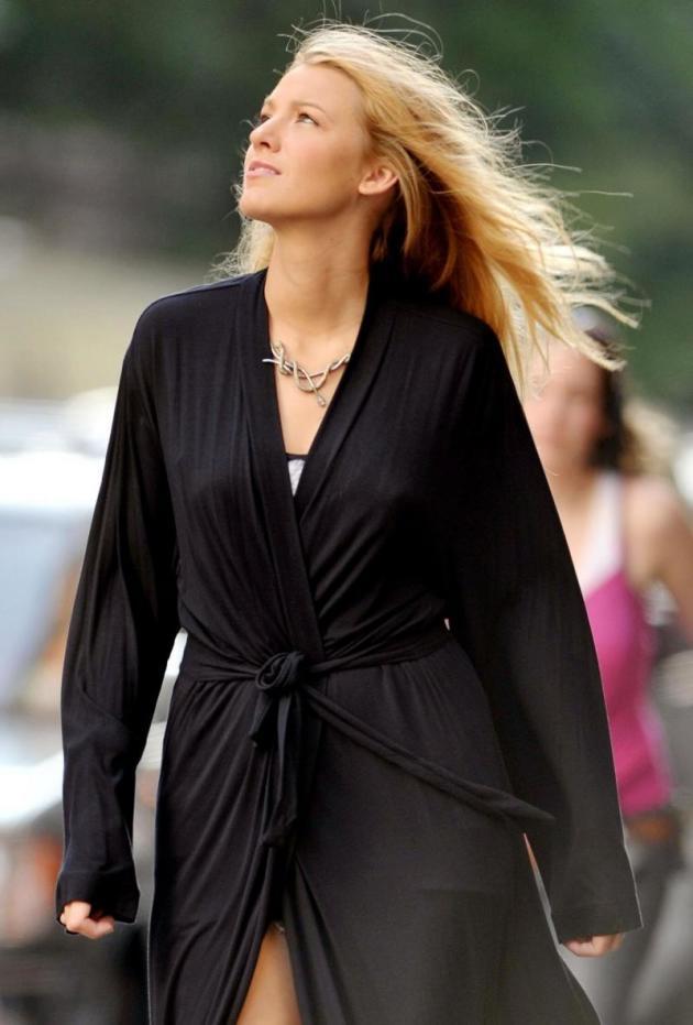 She's Blake in Black!