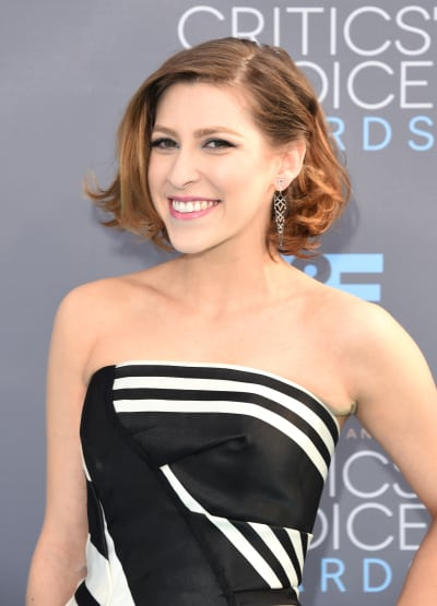 Eden Sher Attends Critics' Choice Awards