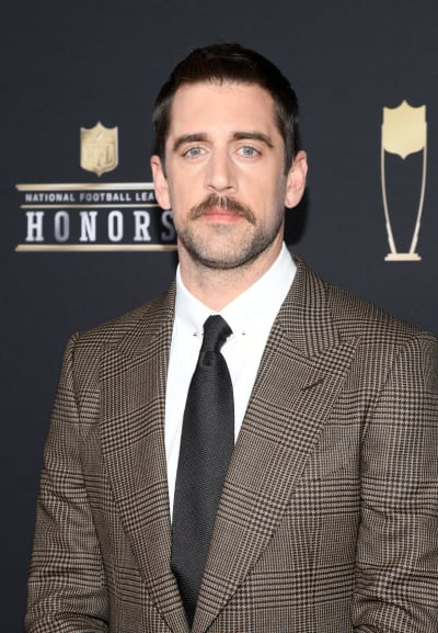 Aaron Rodgers Attends NFL Honors