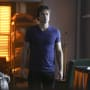 Damon in a T-Shirt - The Vampire Diaries Season 7 Episode 3