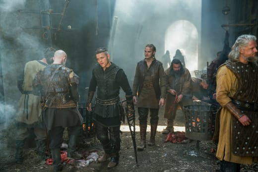 Ivar and Hvitserk - Vikings Season 5 Episode 4