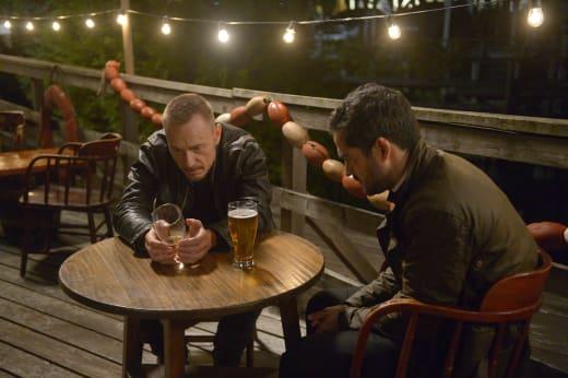 Marcus Enjoying a Beer - The Exorcist Season 2 Episode 4
