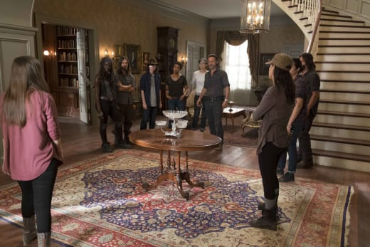 In the Mansion - The Walking Dead