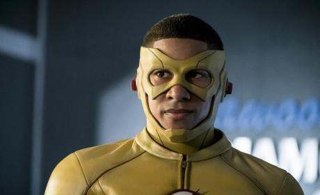 Worried Kid Flash