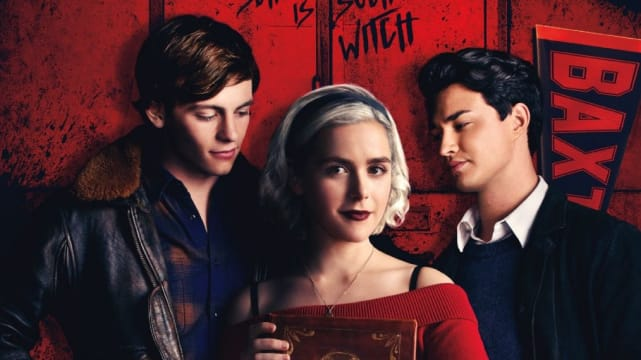 Sabrina, Harvey, and Nick - Chilling Adventures of Sabrina
