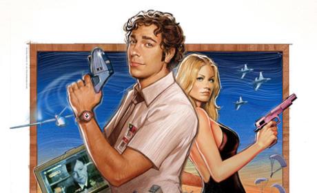 Chuck Season 3 Poster
