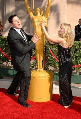 Greg Grunberg, Kristen Bell