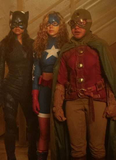 New JSA tunnels - Stargirl Season 1 Episode 10