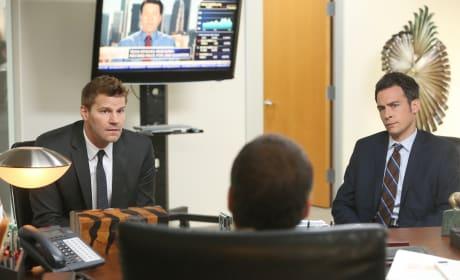 Booth and Aubrey Investigate a Hedge Fund Company - Bones Season 10 Episode 7