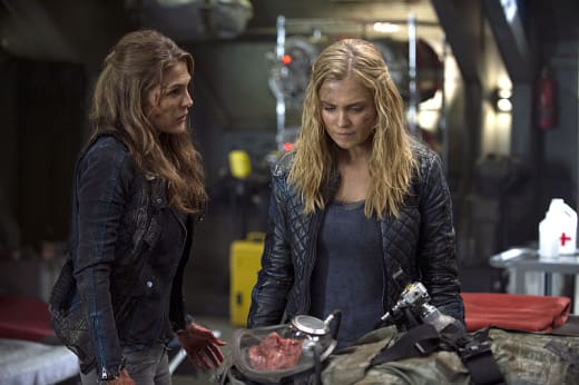 Clarke and Abby - The 100